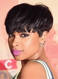 salt and pepper pixie cut human hair wigs jennifer hudson pixie dark brown layered celebrity top quality