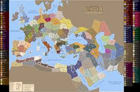 Late Medieval Europe Map by Rome Total War Map Adriftskateshop