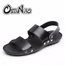 aliexpress com buy oudiniao british designer men sandals summer
