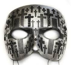 Day Of The Dead Mask Cross Day Of The Dead Mask For Men