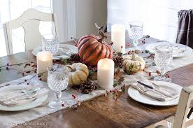 Simple Thanksgiving Table Settings Anderson Grant Setting A Simple Thanksgiving Table Fall