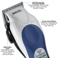 amazon com wahl color pro complete hair cutting kit 79300 400t