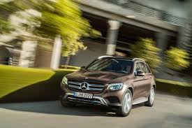 mercedes headlights at night 2016 mercedes benz glc class first look motor trend