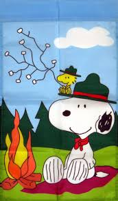 snoopy flag peanuts and snoopy snoopy