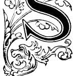 drawings of the letter s