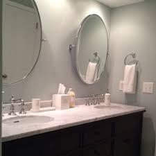 Pottery Barn Mirrored Vanity Bathroom Oval Pivot Mirrors Best Bathroom 2017 Throughout Elegant