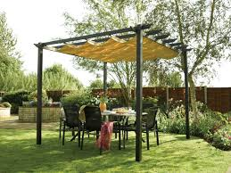 Outdoor Yard Decor Ideas Decorations Shady Patio With Diy Outdoor Canopy Design And