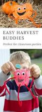 easy and fun fall harvest buddies craft printable crafts fall