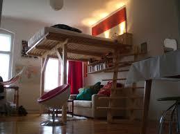 Schlafzimmer Bett Selber Bauen Cama Luna Hochbett Hochebene Galerie Nach Maß