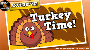 turkey time a silly song for