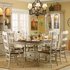 Hooker Furniture La Belle  Piece Dining Set With Rectangular - Hooker dining room sets