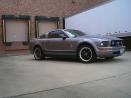 2007 Mustang Black Rims New Black Ar Torque Thrust M Rims Tires On Pics Mustangforums Com