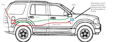 marvellous radio wiring diagram 1997 ford explorer gallery best