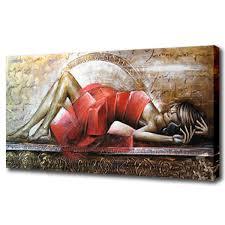 la chambre du sexe moderne photo femme peinture à l huile pour la chambre