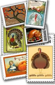 tasty turkey postage sts real usps postage for thanksgiving