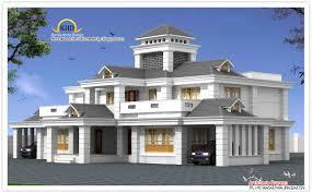 luxury home design elevation 5050 sq ft