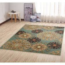 5 X 6 Area Rug Green 5 X 7 Area Rugs Rugs The Home Depot