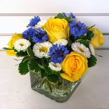 white and blue flowers flower arrangements gallery floral