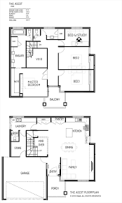 Floor Plan Two Storey by Double Storey Bellissimo Homes House Designs New Home