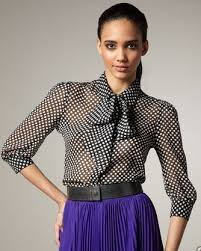 blouse with tie neck tie neck blouses tie neck blouses for fall 2011 popsugar