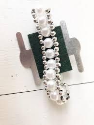 corsage wristlet pearl party corsage wristlet sola wood