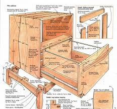 Wood Lateral File Cabinet Plans Building A File Cabinet Finewoodworking