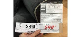 canapé conforama soldes arnaque aux soldes quand conforama s adonne à la fraude à l