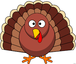 thanksgiving turkey free clip clipart coloring 0f cooked border