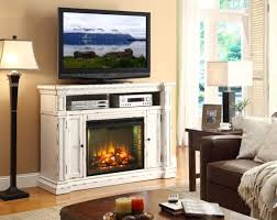 Media Center With Fireplace by Furniture Built In Stone Fireplace With Tv Stand Added Floor Lamp