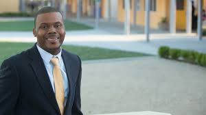 stockton california residents elect youngest and first black mayor