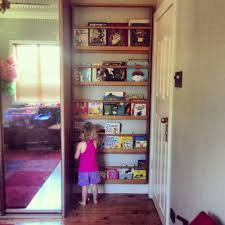 Book Shelves For Kids Rooms by Kids Bookshelf Fitted In Space Behind A Door Kidlets Room