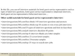 top 10 hotel guest service representative interview questions and ans u2026