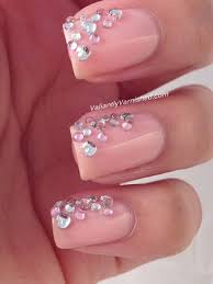 3d nail art week rhinestone cascade u2014 valiantly varnished