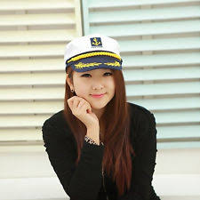 Ship Captain Halloween Costume Captain Hat Ebay