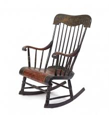Rocking Chairs For Adults Furniture Nice Solid Black Wooden Rocking Chair With High Stick