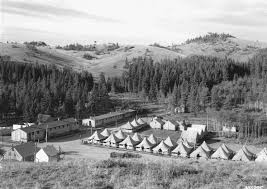 Wyoming travel guard images Hard times and conservation the ccc in wyoming jpg