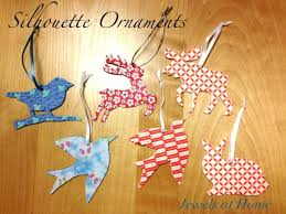 animal silhouette ornaments jewels at home