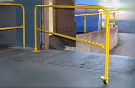 Handrail Requirements Osha Loading Dock Fall Protection Diversified Fall Protection