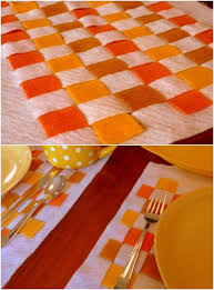 thanksgiving placemats 15 and easy diy placements that add style to your thanksgiving
