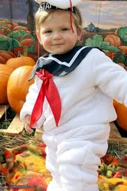 Stay Puft Marshmallow Man Costume Baby Stay Puft Marshmallow Man Costume Diy Photo 3 3