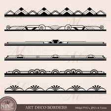 printable art deco borders art deco border clip art art deco borders design elements