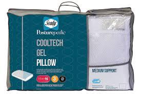 amazon com sealy posturepedic cooltech gel pillow medium support