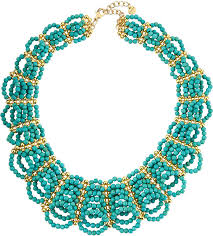 beaded collar necklace images Nakamol magnesite beaded collar necklace turquoise where to buy jpg