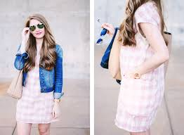 pink and white gingham dress miss madeline rose