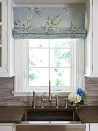 Simply Shabby Chic Roman Shades Like The Idea Of Using A Printed Fabric For The Blinds To Add