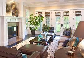 French Country Roman Shades - 20 dashing french country living rooms home design lover