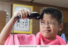 cut your own hair with clippers women young asian love trying cut your stock photo 328229177 shutterstock