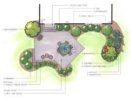 three dimensional design modern blue concepts landscape design