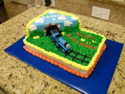 Home Made Cake Decorations by Thomas The Train Birthday Cake Birthday Cake Recipes Pinterest