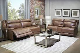 Reclining Living Room Furniture Sets by La Crosse Leather Seating Power Reclining Living Room Mor